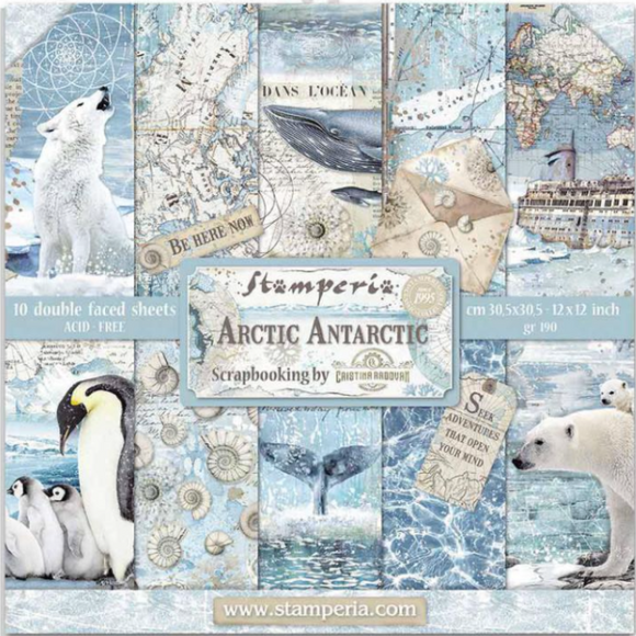 NEW Stamperia Arctic Antarctic - 8