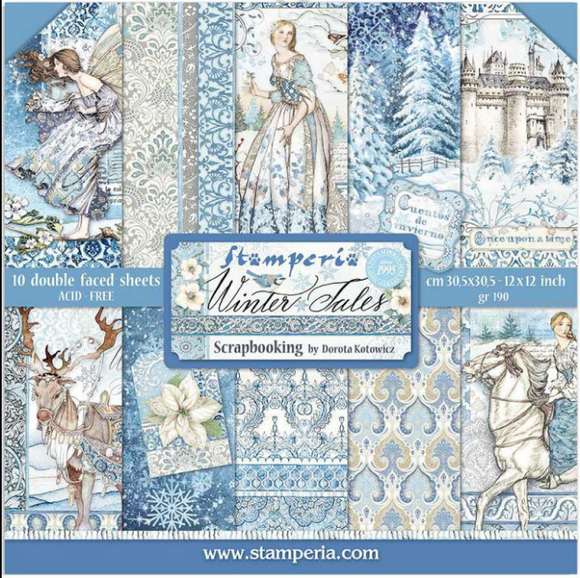 Pre-Order NEW Stamperia Winter Tales - 12