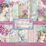 "Pre-Order NEW Stamperia Hortensia - 12"" x 12"" Paper Pad SBBL72"