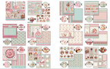 "Pre-Order NEW Stamperia Sweety - 12"" x 12"" Paper Pad SBBL78"
