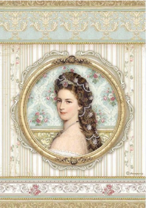 NEW Stamperia A4 Decoupage Rice Paper - Princess DFSA4481