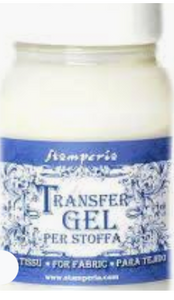 Stamperia Transfer Gel  for Fabric 100ml - DCFTR100S