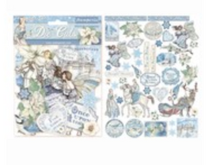 NEW Stamperia Die Cuts - Winter Tales 45 pieces