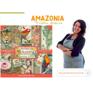 NEW Stamperia Amazonia Collection Overview