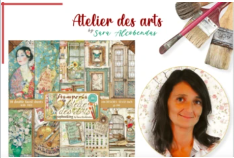 NEW Stamperia Atelier Des Art Collection Overview