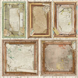 "New Stamperia Atelier Des Arts - 8"" x 8"" Paper Pad SBBS33 - Pre-Order"