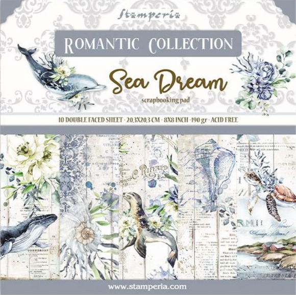 New Stamperia Romantic Sea Dreams - 8