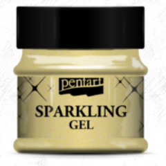 NEW Pentart Sparkling Gel  - 50ml