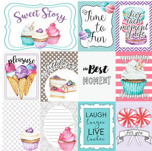 "NEW Fabrika Decoru 'Sweet Story"" Single Sheet -01017-2"