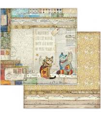 Stamperia Make A Wish Cats - Double Face Paper 30 x 30 SBB652