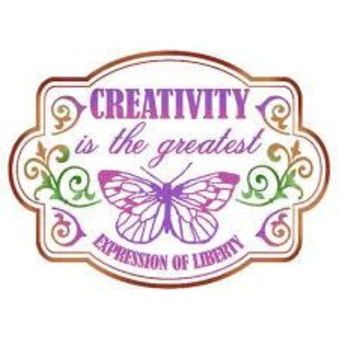 Stamperia Stencil - Flexible transparent 20x15cm - Creativity - KSD294