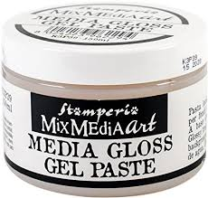 Stamperia Media Gloss Gel Paste 150ml - K3P39