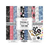 NEW Fabrika Decoru 'Specially For Him' 8x8 Pad -FDSP-02043