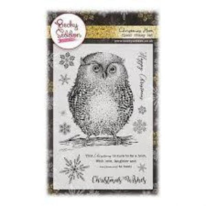 Becky Seddon 'Christmas Hoot' Clear Stamp Set