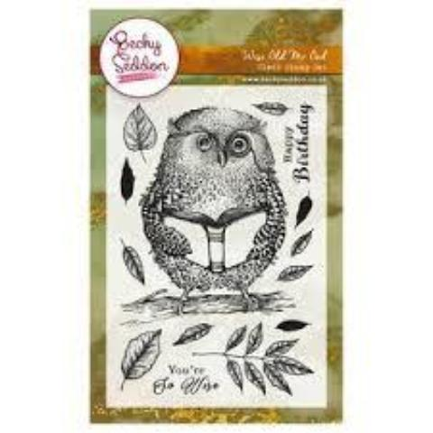 Becky Seddon 'Wise Old Mr. Owl' Clear Stamp Set