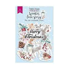 Fabrika Decoru 'Winter Love Story' Die Cuts 61 pieces - FDSDC-04061