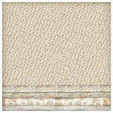 Stamperia 50 x 50cm Decoupage Rice Paper - Lace with Bark DFT325