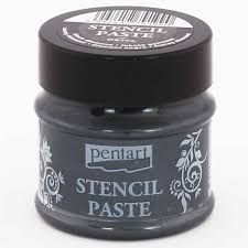 NEW Pentart Stencil Paste - 50ml