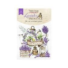NEW Fabrika Decoru 'Lavender Provence' Die Cuts 54 pieces - FDSDC-04064