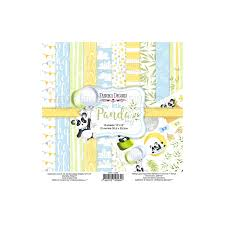 Fabrika Decoru 'My Little Panda Boy' 8x8 Pad -FDSP-02069