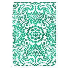 Stamperia Stencil - Flexible transparent 20x15cm - Laces - KSD296