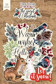 Fabrika Decoru 'The Spirit of Christmas' Die Cuts 53 pieces - FDSDC-04060