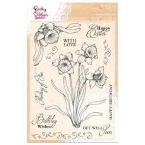 Becky Seddon Designs 'Happy Easter to You' A5 Clear Stamp Set
