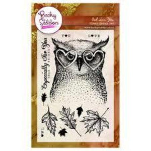 Becky Seddon 'Owl Love You' Clear Stamp Set