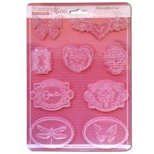 Stamperia A4 Moulds Butterflies - K3PTA444