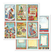 Stamperia Make A Wish Cards - Double Face Paper 30 x 30 SBB636