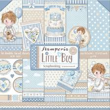 Stamperia 'Little Boy' - 12