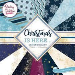 Becky Seddon Designs 'Christmas is Here' Design Booklet