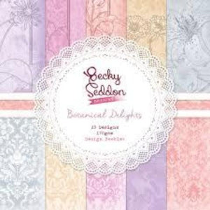 Becky Seddon Designs 'Botanical Delights' Design Booklet