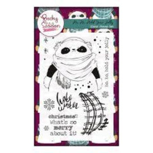 Becky Seddon 'Ho, Ho, Hold Your Jolly' Clear Stamp Set