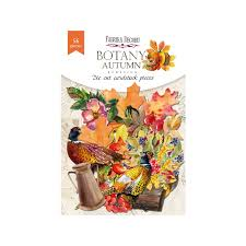 NEW Fabrika Decoru 'Botany Autumn' Die Cuts 56 pieces - FDSDC-04074