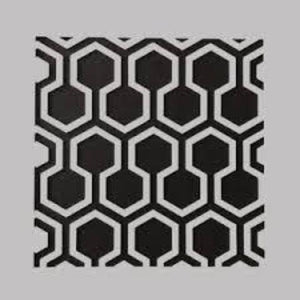 DaliART Stencils - Hexagon Lattice - 5 x 5""