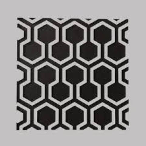 DaliART Stencils - Hexagon Lattice - 5 x 5
