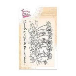 Becky Seddon 'Lovely Layia' A6 Clear Stamp Set