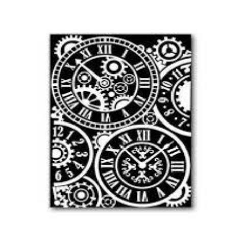Stamperia Rub-On A5 Deco Transfer - 15x22.5cm Clocks- DFTD05