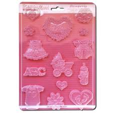 Stamperia A4 Moulds - Baby Clothes and Accessories - K3PTA441