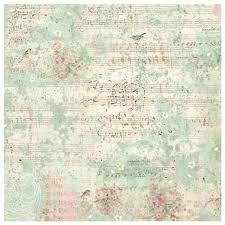 Stamperia 50 x 50cm Decoupage Rice Paper - Sweet Christmas Music & Sparrow DFT330
