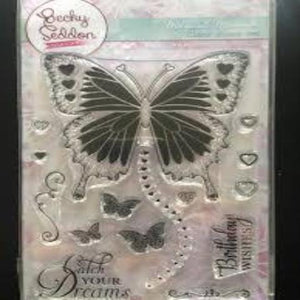 Becky Seddon 'Magical Monarch' Clear Stamp Set
