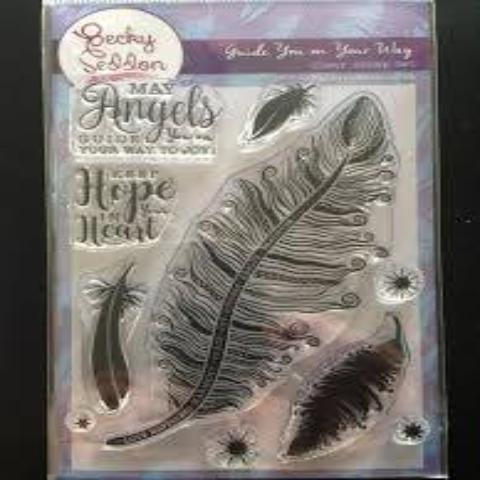 Becky Seddon 'Guide You on You Way' Clear Stamp Set