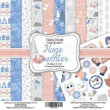 Fabrika Decoru 'Huge Winter' 8x8 Pad -FDSP-02057
