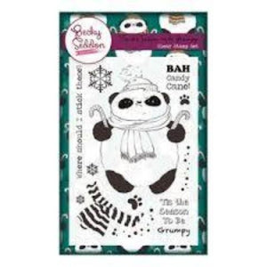 Becky Seddon 'Tis the Season to be Grumpy' Clear Stamp Set