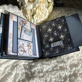 6x6 Mini Photo Album (Blue) - Bonnie Dombowsky