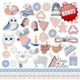 Fabrika Decoru 'Huge Winter' 12x12 Pad - FDSP-01057