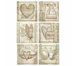 Stamperia A4 Decoupage Rice Paper -  Imagine Frames DFSA4443