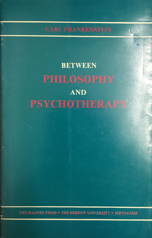 Between philosophy and psychotherapy