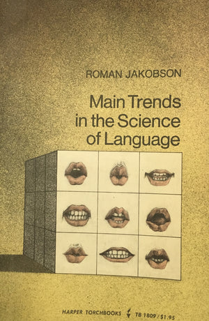 The Main Trends in the Science of Language